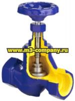резьбовой запорный клапан (вентиль)