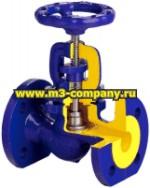фланцевый запорный клапан (вентиль)